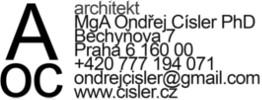 Ondřej Císler - Architekt